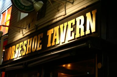 Front of Horseshoe Tavern