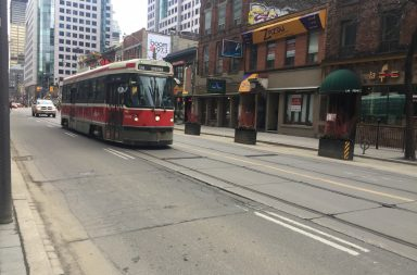 Streetcar on King St.