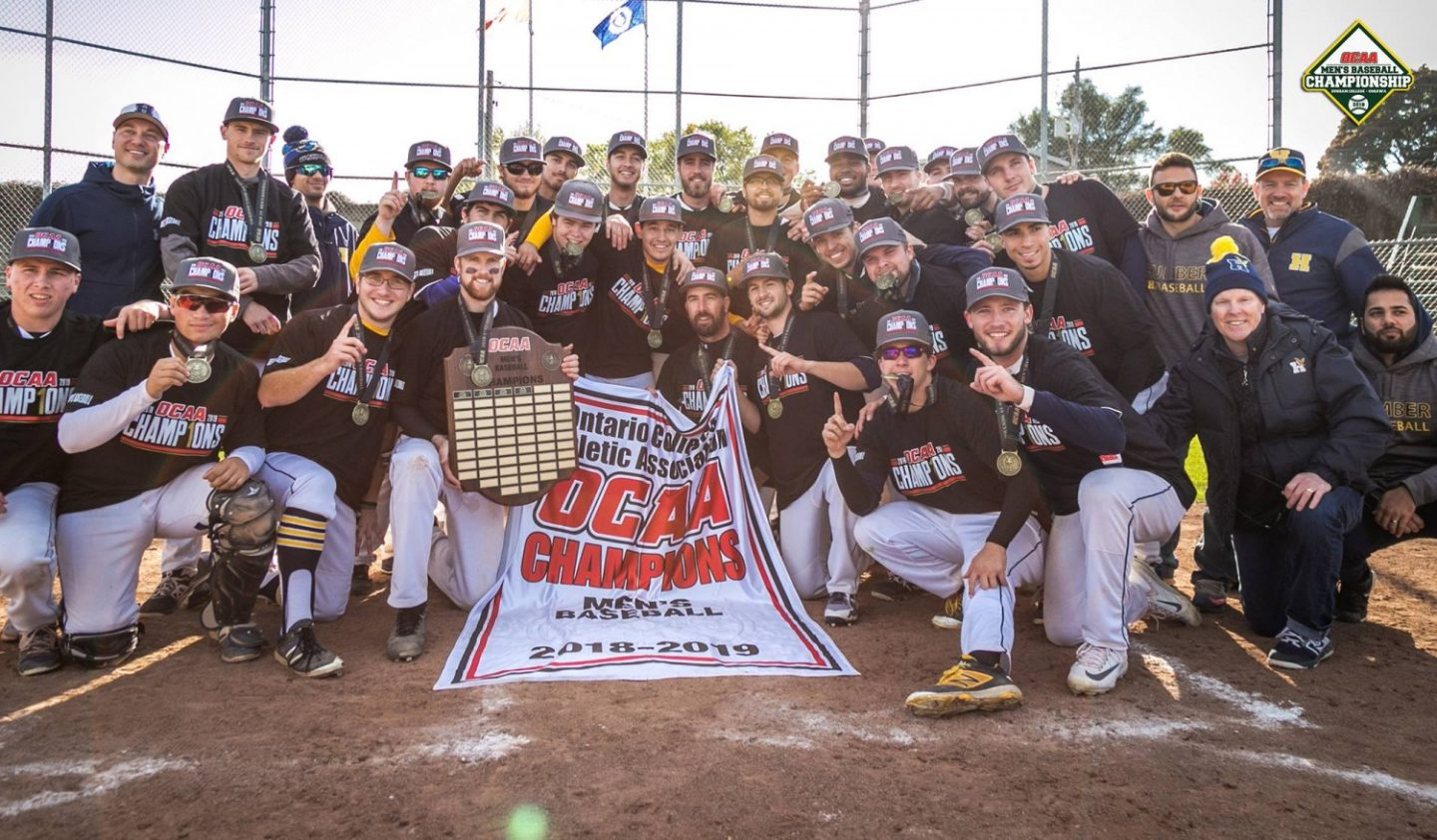 Humber Hosts Costly National College Baseball Championship