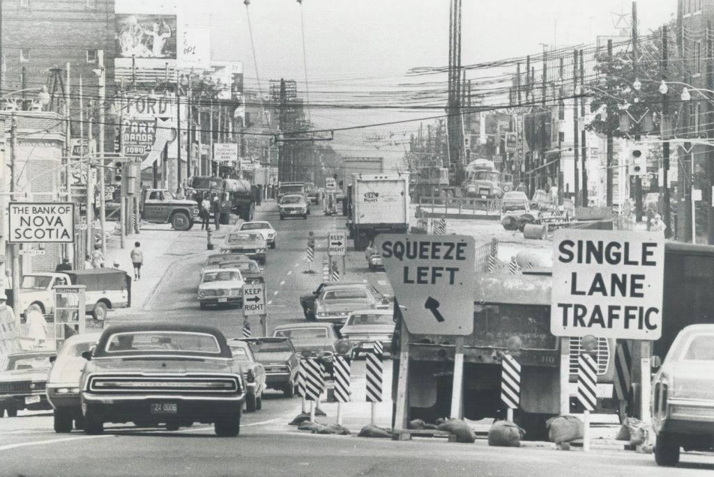 Image from 20th century Yonge st.