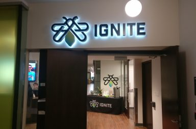 Picture of Ignite office located in the KX building of Humber North campus