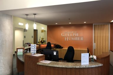 University of Guelph-Humber front desk