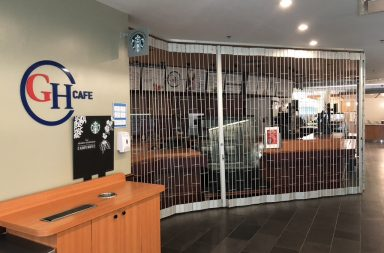 Guelph-Humber Cafe located on 2nd floor locked up